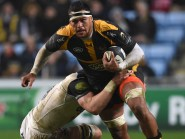 Wasps back row Nathan Hughes has been picked by England for the first time