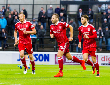 Dons off the mark following win against Partick Thistle