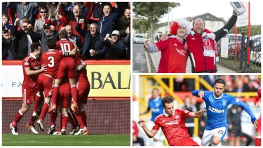 PICTURES: Are Dons the 'best of the rest' following last gasp win over Rangers?