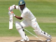 Imrul Kayes, pictured, was dismissed by Adil Rashid just before lunch