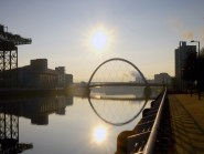 The Clyde Arc will be the logo for Glasgow as a Euro 2020 host city