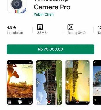 aplikasi foto yang memberi tanggal dan lokasi