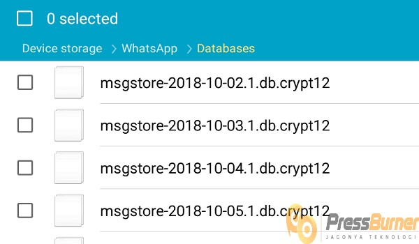 cara melihat pesan Whatsapp yang dihapus tanpa aplikasi