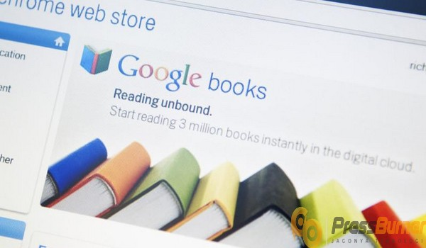menggunakan layanan free ebook melalui website google books