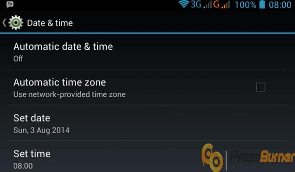 ganti tanggal di smartphone