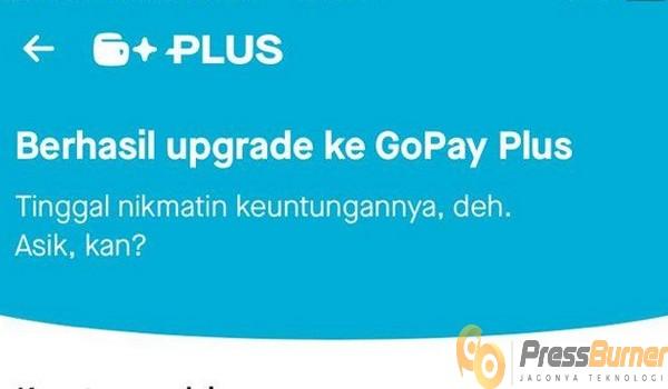 Harus Menggunakan GoPay Plus