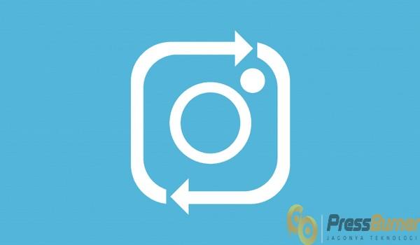 cara repost foto dan video instagram