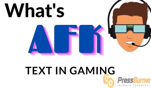 Memahami Pengertian AFK Dibalik Dunia Para Gamers Pressburner.com