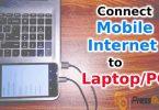 cara menyambungkan internet hp ke laptop