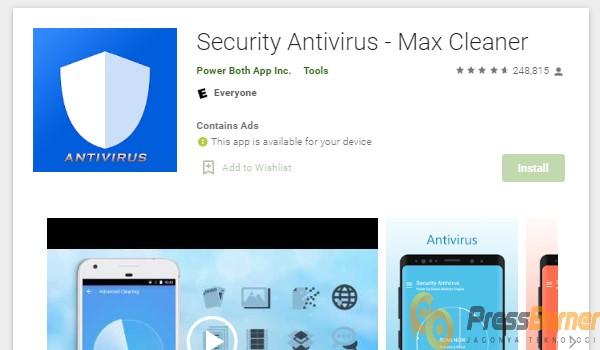 Menggunakan Aplikasi CM Security