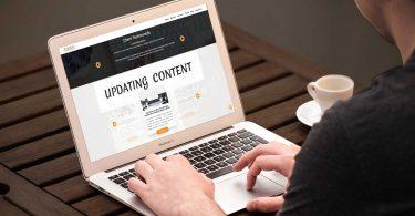 Update Content Website