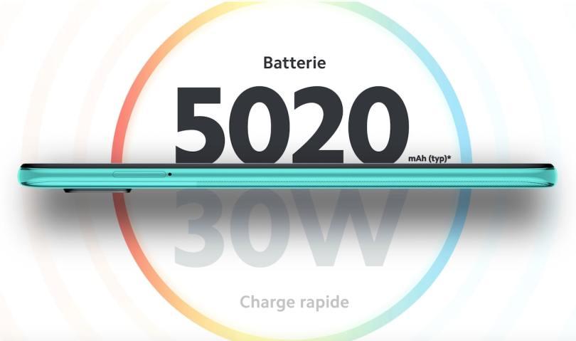 Redmi Note 9 Pro batterie