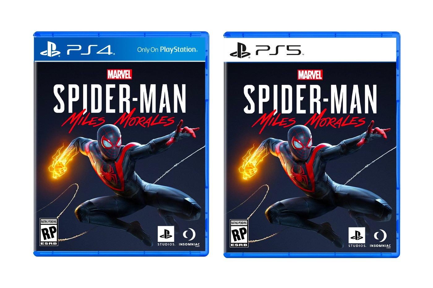 SpiderMan Miles Morales PS4 et PS5