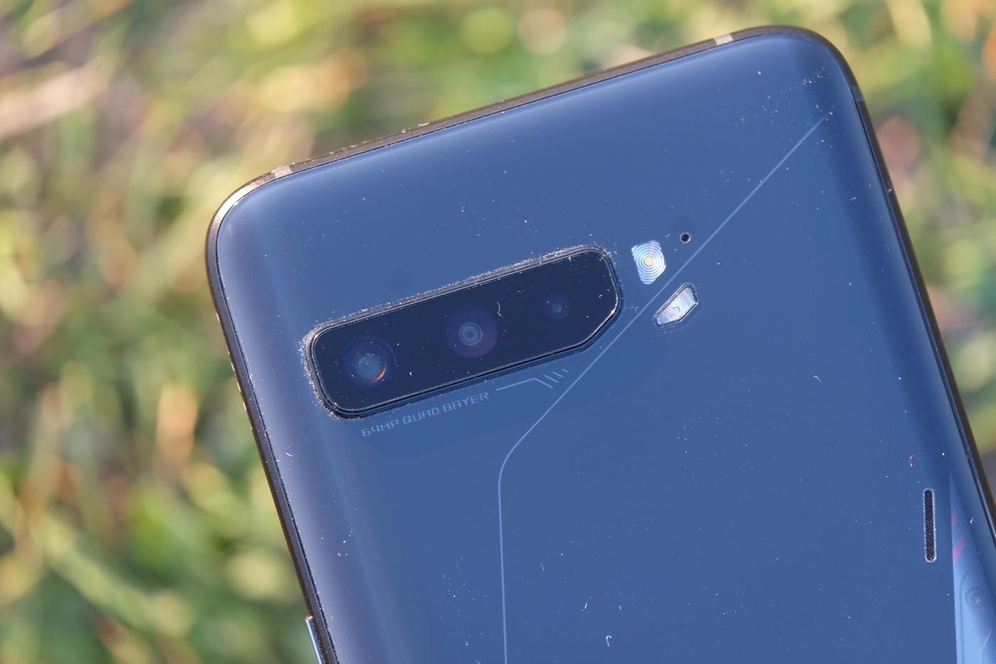test asus rog phone 3 capteurs photo