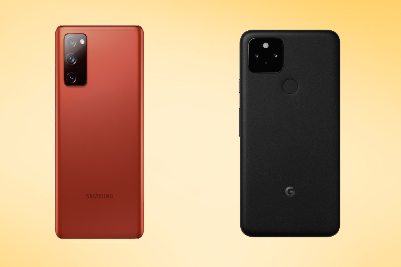 Pixel 5 vs S20 FE