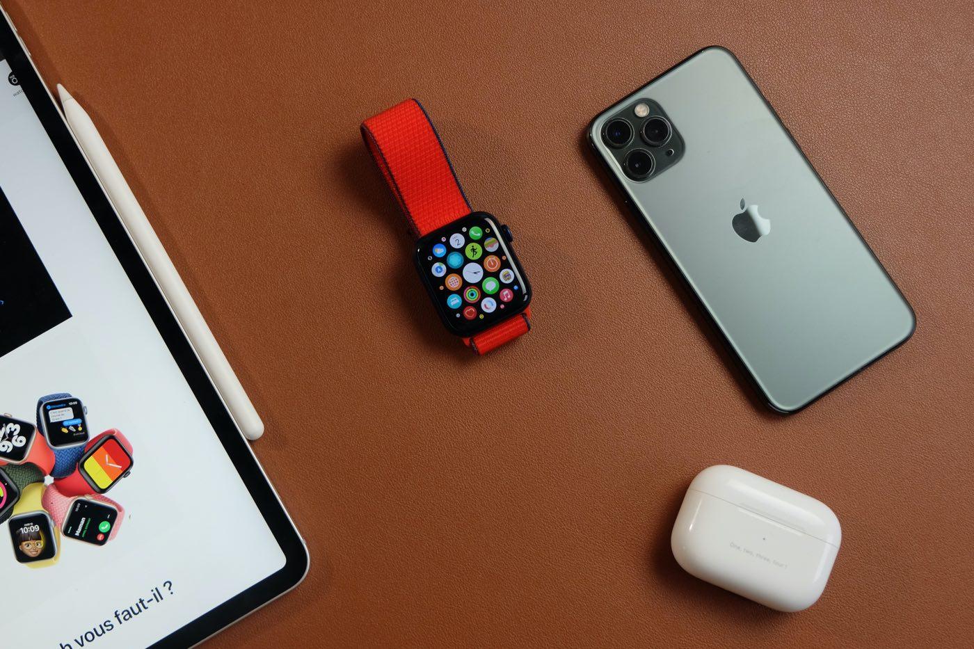 test apple watch series 6 bracelet