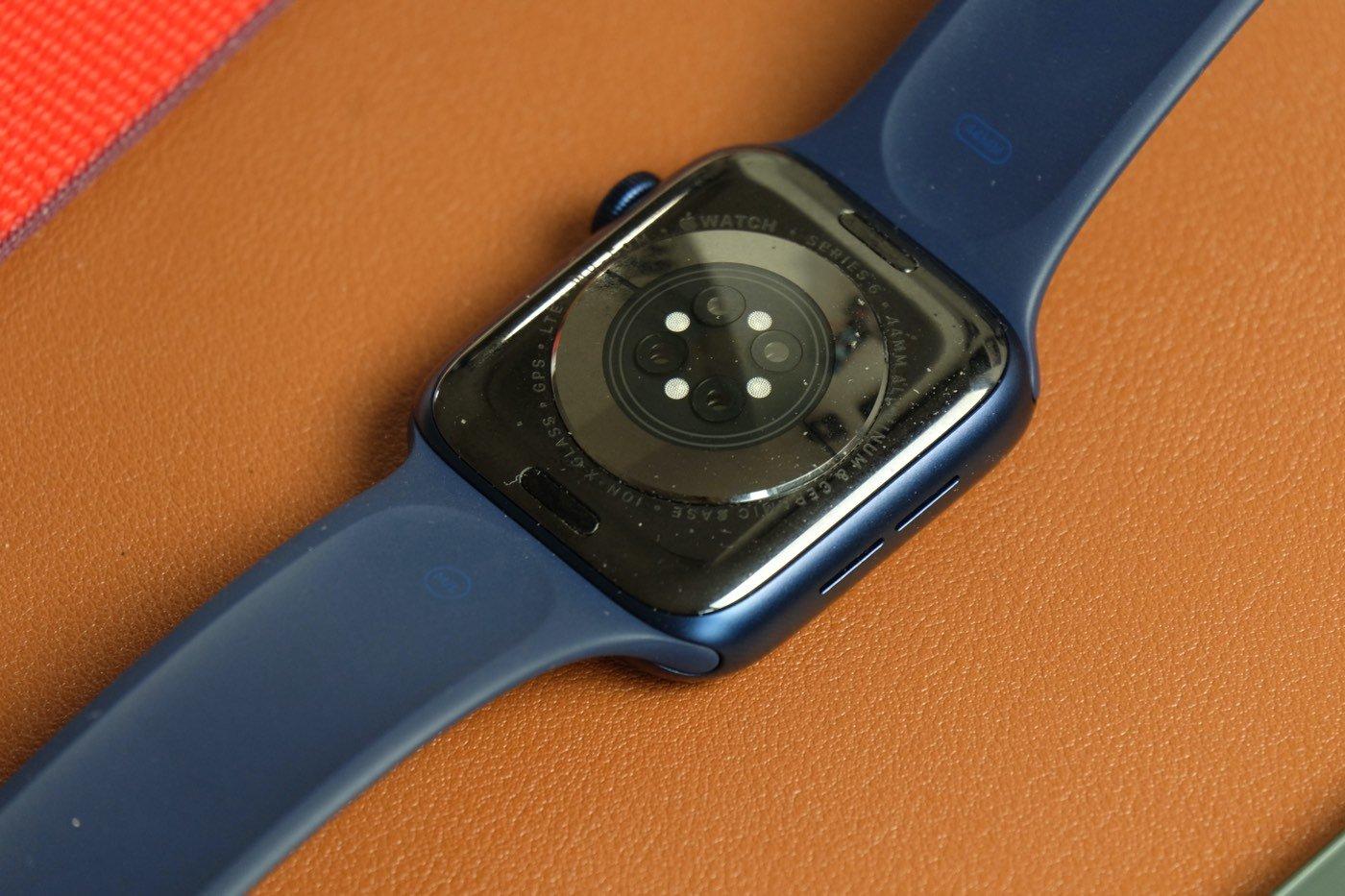 test apple watch series 6 capteurs
