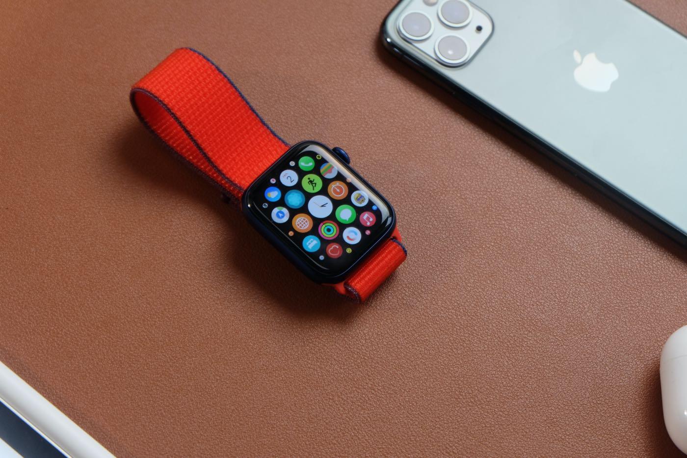 test apple watch series 6 ecran