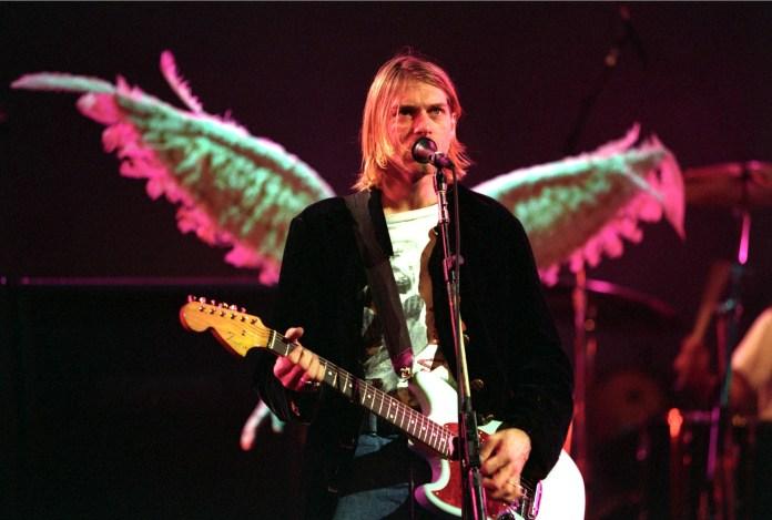"""A&E zeigt die TV-Weltpremiere von """"Kurt Cobain - Tod einer Ikone"""" am 18. Februar um 20.15 Uhr. Das Bild zeigt den Leadsänger von Nirvana a"""