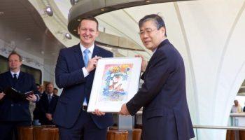 AIDA Cruises übernimmt jüngstes Flottenmitglied AIDAperla