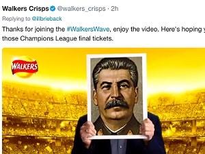 Twitter-Fail: Gary Lineker hält Massenmörder hoch Werbekampagne von Walkers wird zum Social-Media-Eigentor
