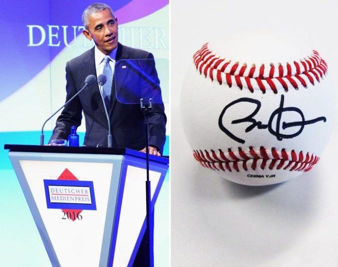Barack Obama unterstützt deutsches Auktionsportal United Charity Charity-Plattform versteigert einige von Obama persönlich signierte Gegenstände