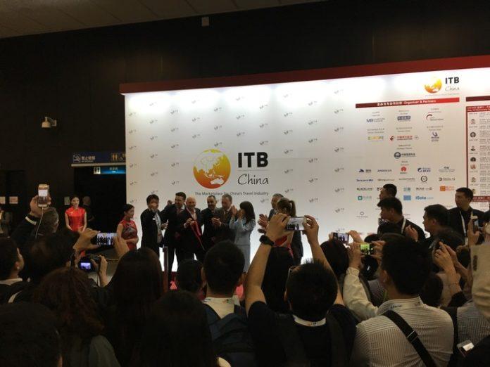 Eröffnungsbericht Ausgebuchte ITB China feiert Premiere in Shanghai