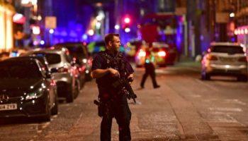 Die Polizei hat das Gebiet um die London Bridge großräumig abgesperrt