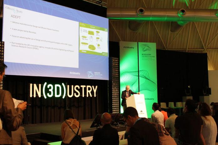IN(3D)USTRY fördert branchenübergreifend die weitverbreitete Einführung des 3D-Drucks