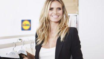 Fashion für alle: Heidi Klum für Lidl Heidi Klum und Lidl machen hochwertige Mode für jedermann erschwinglich