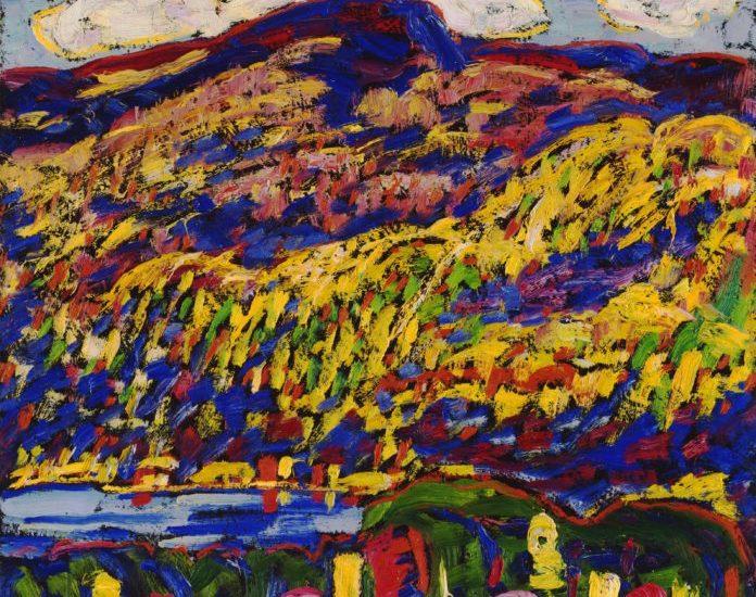 Marsden Hartley: Bergsee, Herbst, um 1910, The Phillips Collection, Washington, D. C.