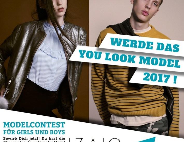 IZAIO und Europas größtes Jugendevent suchen die YOU LOOK Models 2017