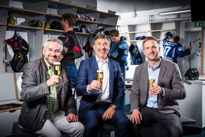 Bier, Getränke, Eishockey, Sponsoring, Sport, Iserlohn Roosters, Wirtschaft, Bild, Krombach