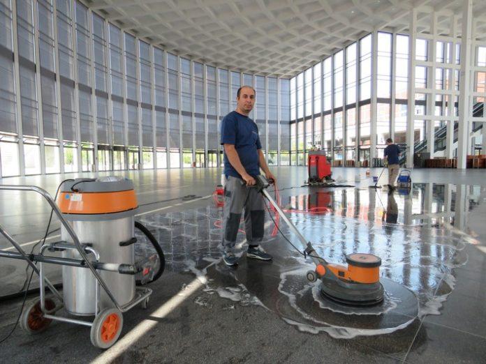 Dienstleistungen, Messen, Reinigungsfachmesse, Wirtschaft, Cleaning.Management.,Services., Handwerk, Handel, Bild, Berlin