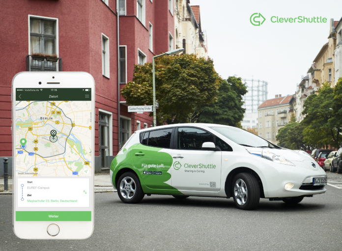 CleverShuttle,Berlin,Sharing