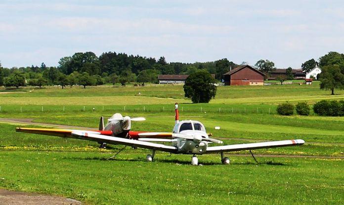 Tegel, Flughafen Eberswalde/Finow, Luftverkehr, Auto / Verkehr, Flughafen, Bau, Politik, Berlin