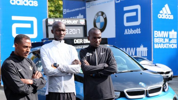Mit Eliud Kipchoge, Wilson Kipsang und Kenenisa Bekele starten die drei derzeit besten Marathonläufer zum ersten Mal in einem Rennen
