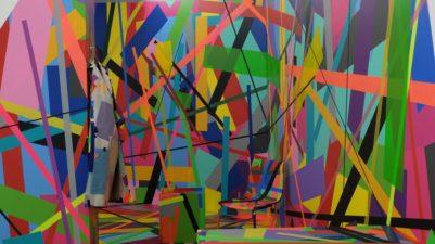 Wilmersdorfer ,#Artcaden, Berlin,, THE HAUS,Kunst,,DIE DIXONS,#Tape_Art,Ready for the next big thing