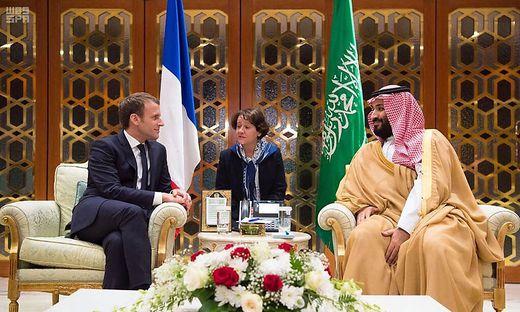 Riad,Emmanuel Macron,Saudi-Arabien,Außenpolitik