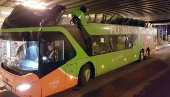 Nachrichten, Panorama, FlixBus, Verkehrsunfälle, Notfall, Flixbus, Berlin-Spandau