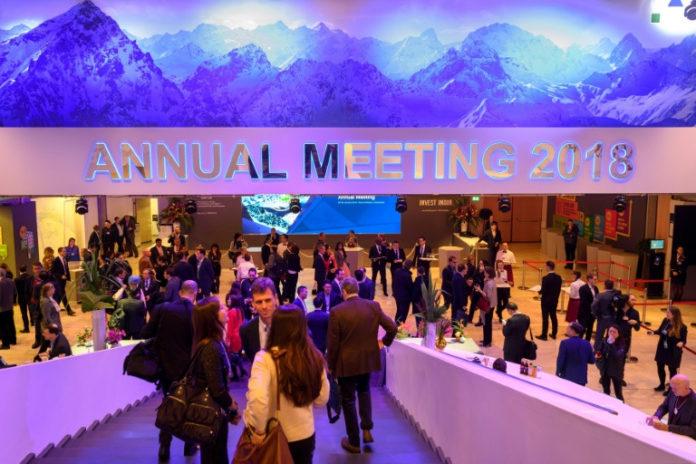 Schweiz, Davos,News,Angela Merkel ,Europa,Politik,Präsident ,Emmanuel Macron, ,Theresa May ,Paolo Gentiloni