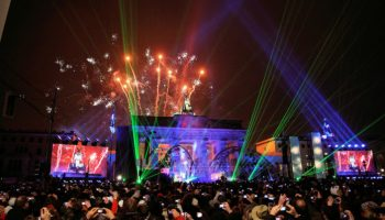 Brandenburger Tor ,Berlin,Feuerwerk,Party,Freizeit,Unterhaltung,News,Köln