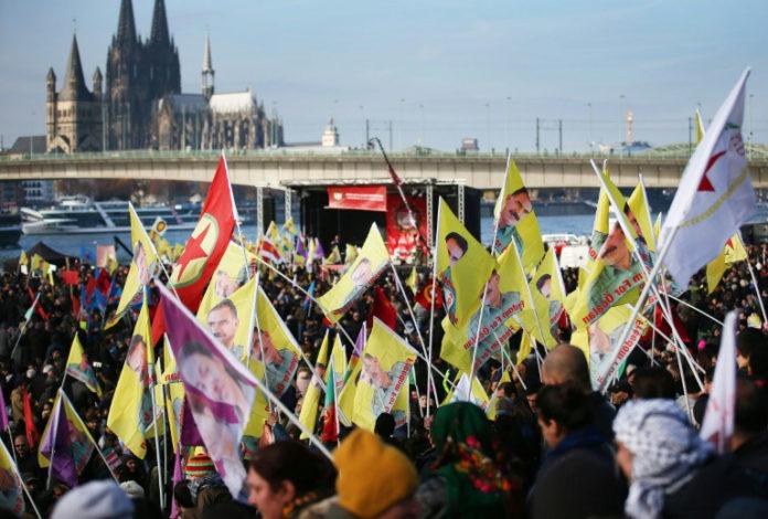 Protest,Köln,News,Syrien,Militär, Nav-Dem