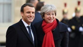 London,Paris,Calais,Politik,News,Theresa May,Emmanuel Macron