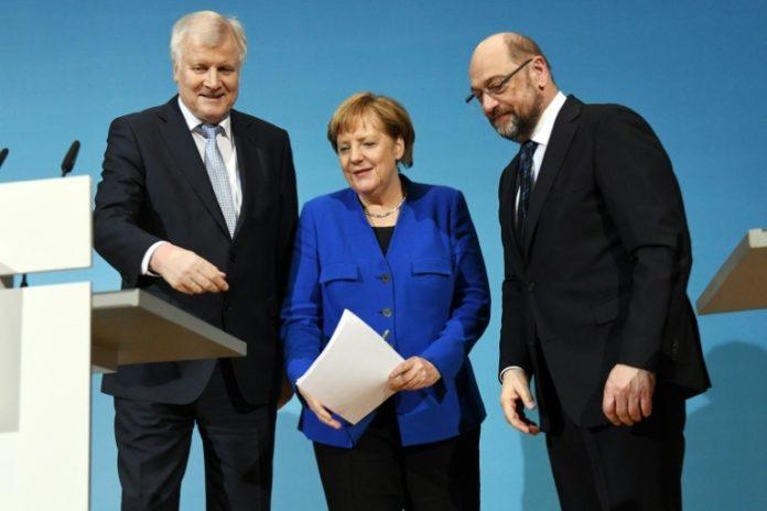 Angela Merkel ,Berlin,Politik,News,Martin Schulz ,Horst Seehofer