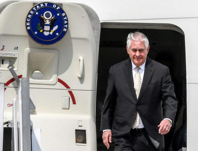 Rex Tillerson,USA-,Politik,Ausland,Syrien,Anti-IS-Kampf