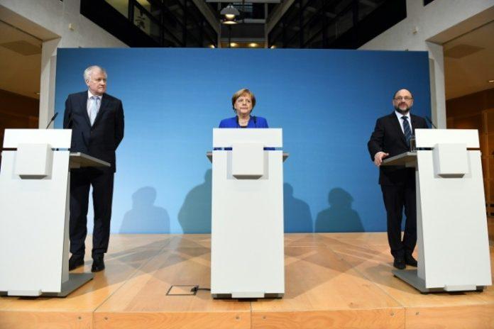 Berlin,News,Nachrichten,Angela Merkel ,CDU, Martin Schulz ,SPD,Horst Seehofer CSU,Politik