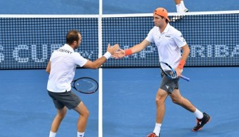 Sport,Tennis, John Peers ,Matthew Ebden,Jan-Lennard Struff,Tim Pütz,Brisbane