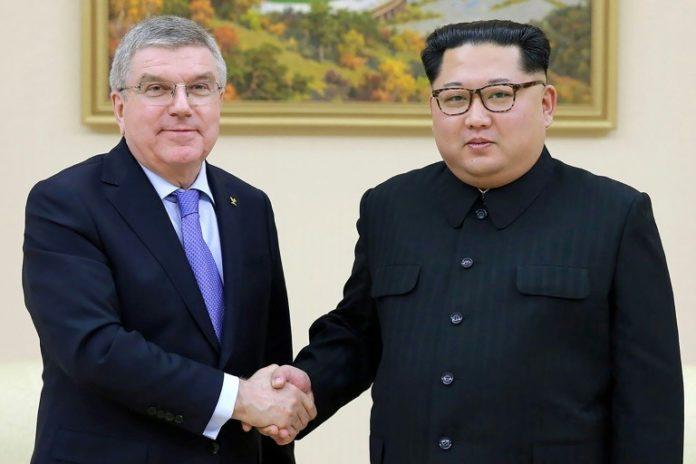 Tokio ,Peking,Nordkorea,#OlympischenSpielen,Sport,Kim Jong Un,#IOC,Thomas Bach