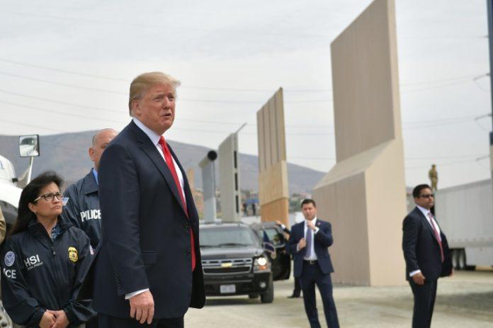 Präsident, Donald Trump,Mexiko,Politik,News,Ausland,San Diego,Mauerbau